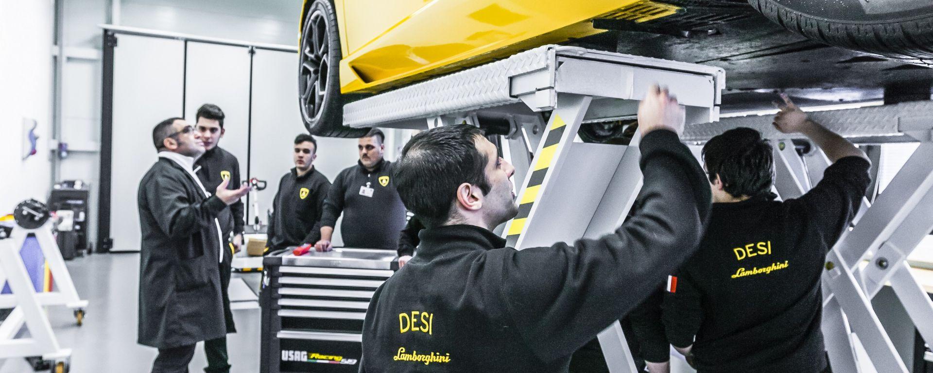 Progetto DESI, tecnici crescono in Lamborghini e Ducati