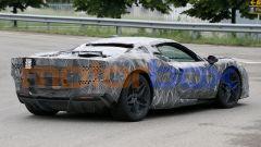 Progetto F171: 3/4 posteriore lato destro della Ferrari ''Dino'' V6 ibrida
