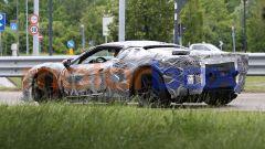 Progetto F171: 3/4 posteriore sinistro della Ferrari ''Dino'' V6 ibrida