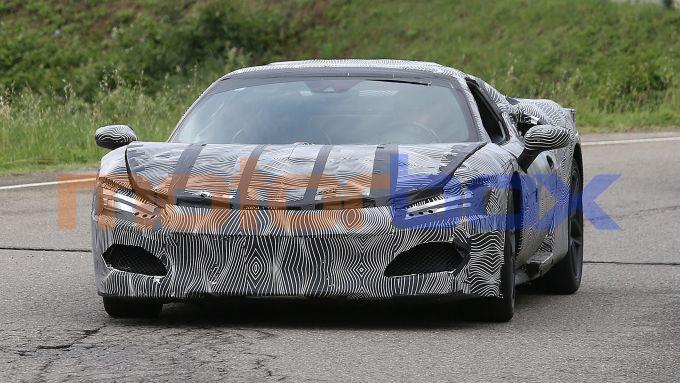 Progetto F171: il frontale della Ferrari ''Dino'' V6 plug-in hybrid