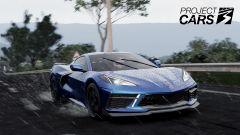 Project Cars 3: Corvette Stingray in Toscana, sotto la pioggia