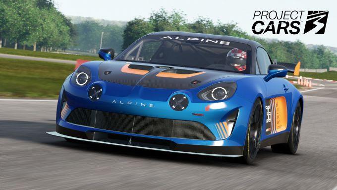 Project Cars 3: la Alpine in gara