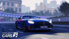 Project Cars 3: la Mercedes AMG GTR corre a Shangai