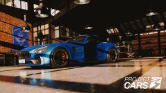 Project Cars 3: la Mercedes AMG GTR nel garage