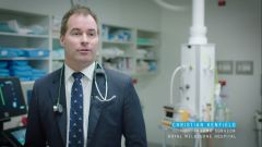 Project Graham: Dr Christian Kenfield, esperto in chirurgia traumatologica al Royal Melbourne Hospital