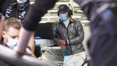 Protocol Run Mercedes a Silverstone, day-1. Valtteri Bottas