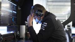 Protocol Run Mercedes a Silverstone, day-1