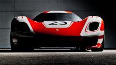 Prototipo Porsche 917: vista frontale