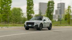Prova Audi Q2 35 TFSI S tronic S line: composto su strada, sbarazzino tra le curve