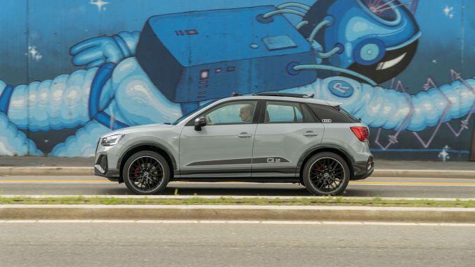 Prova Audi Q2 35 TFSI S tronic S line: consumi contenuti, anche in città