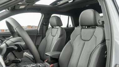 Prova Audi Q2 35 TFSI S tronic S line: i comodi sedili sportivi