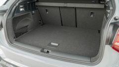 Prova Audi Q2 35 TFSI S tronic S line: il bagagliaio è ben rifinito