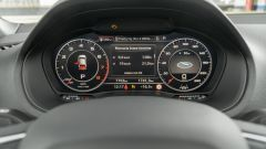 Prova Audi Q2 35 TFSI S tronic S line: il cruscotto digitale