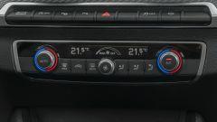 Prova Audi Q2 35 TFSI S tronic S line: la plancetta del