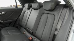 Prova Audi Q2 35 TFSI S tronic S line: poco lo spazio dietro