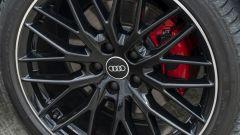 Prova Audi Q2 35 TFSI S tronic S line: sportive le pinze dei freni rosse