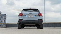 Prova Audi Q2 35 TFSI S tronic S line: visuale posteriore