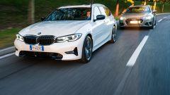 Prova: BMW 320d Touring Sport e Audi A4 Avant 40 TDI quattro a confronto