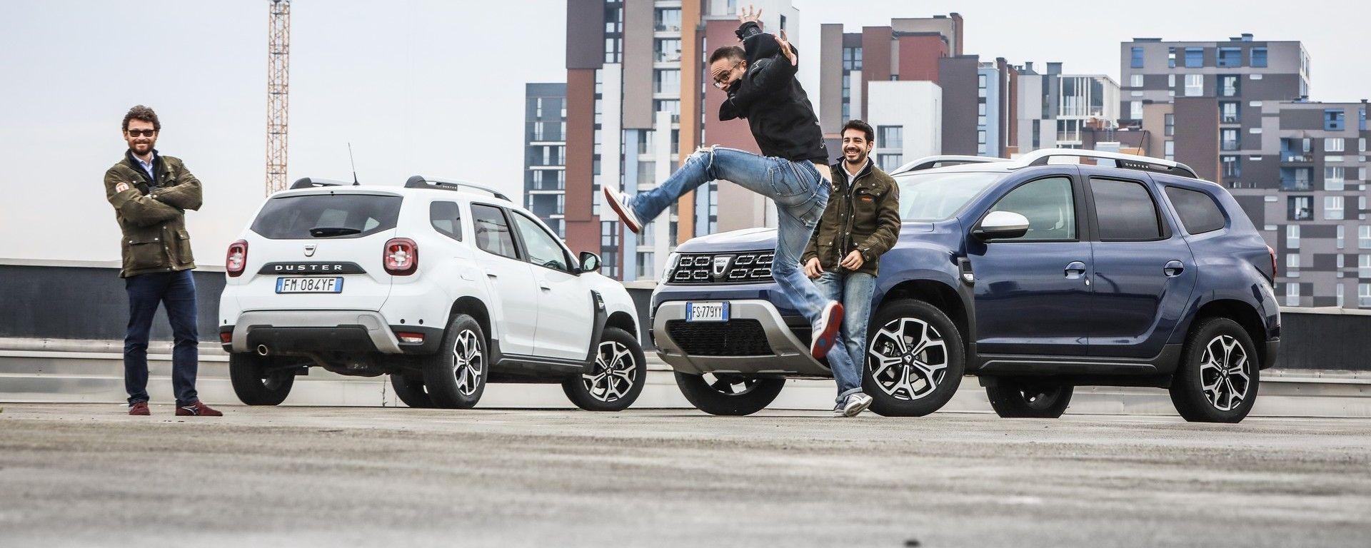Prova comparativa: meglio Dacia Duster GPL o Dacia Duster diesel?
