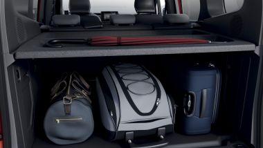 Prova di Renault Kangoo 2021: enorme la capienza del bagagliaio