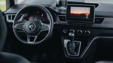 Prova di Renault Kangoo 2021: il posto guida