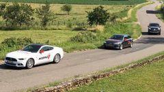 Prova KONI Special Active con Ford Mustang, Audi A4 Avant e Mercedes Classe X