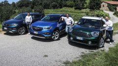 I SUV a benzina Opel, Seat e Mini sfidano le versioni diesel - Immagine: 2