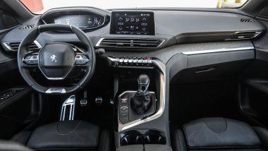 Nuova Peugeot 3008, l'i-Cockpit e gli interni della versione GT Line