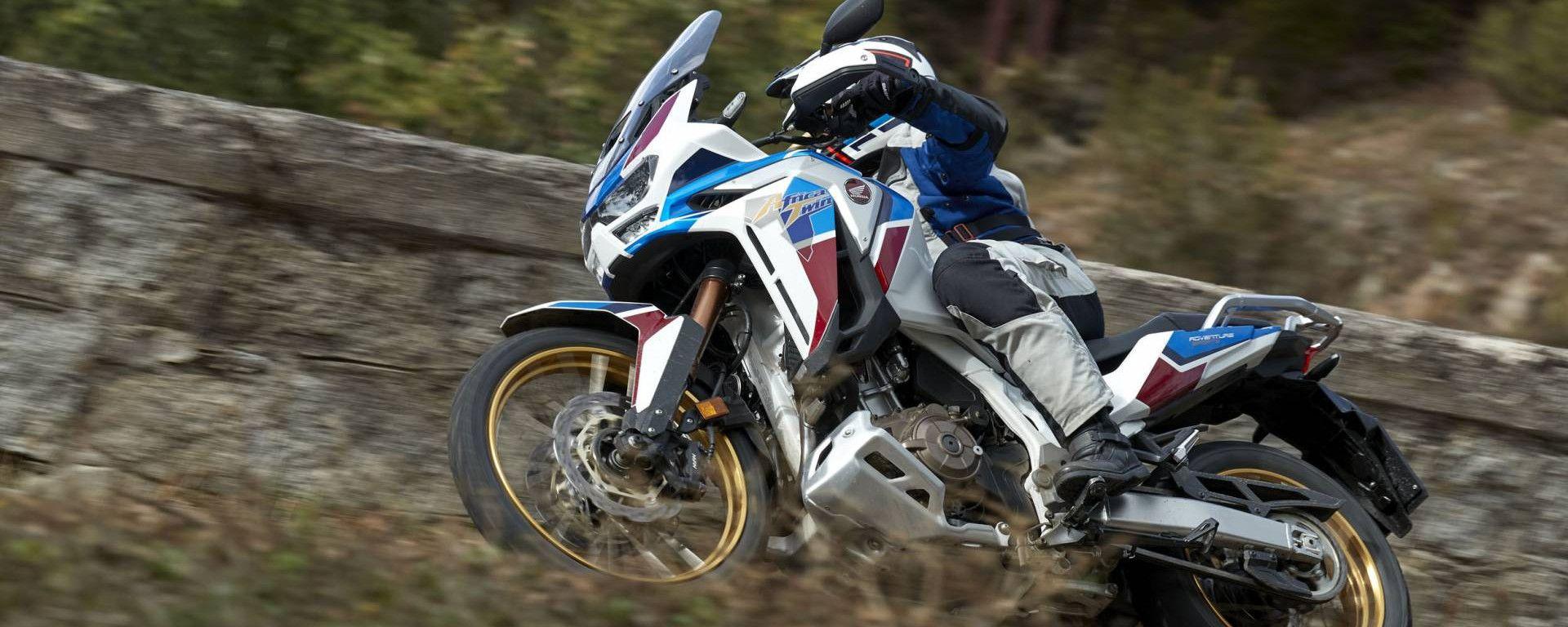 La prova video di Honda Africa Twin e Africa Twin Adventure Sports