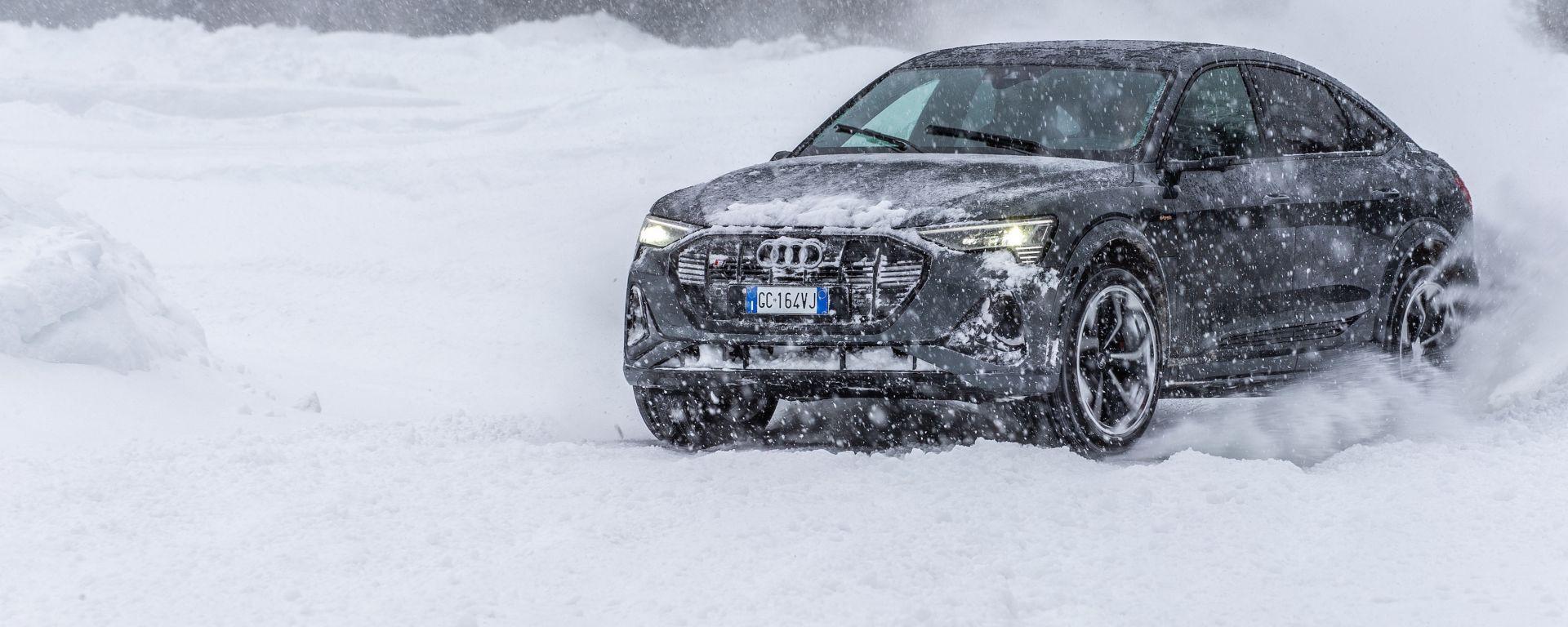 Audi e-tron S Sportback, potere al Torque Vectoring elettrico. Prova video