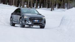 Audi e-tron S Sportback, potere al Torque Vectoring elettrico. Prova video - Immagine: 13