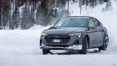 Audi e-tron S Sportback, potere al Torque Vectoring elettrico. Prova video - Immagine: 14