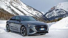 Audi e-tron S Sportback, potere al Torque Vectoring elettrico. Prova video - Immagine: 16