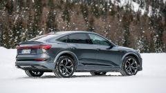 Audi e-tron S Sportback, potere al Torque Vectoring elettrico. Prova video - Immagine: 17