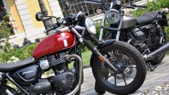 Moto Guzzi V9 Bobber sfida Triumph Street Twin - Immagine: 1