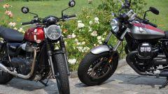 Moto Guzzi V9 Bobber sfida Triumph Street Twin - Immagine: 4