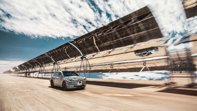 Prove di velocità e resistenza per BMW iNext