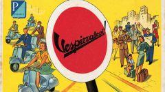 Pubblicità Vespa 1950