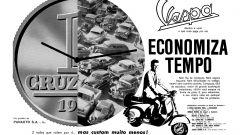 Pubblicità Vespa Brasile 1960