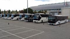 Pullman in esposizione all'International Bus Expo