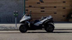 Quadro lancia E-Qooder: l'e-scooter in collaborazione con Zero Motorcycles