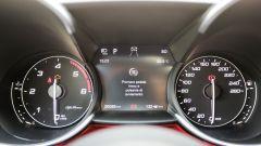 Quadro strumenti dell'Alfa Romeo Giulia Veloce Diesel