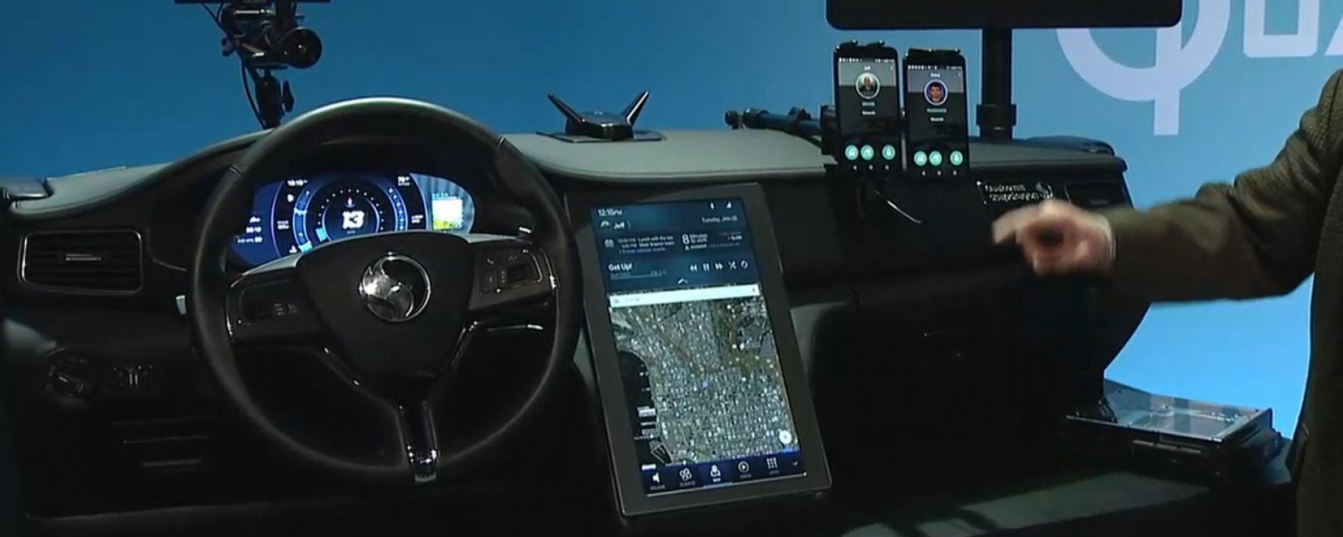 Qualcomm Snapdragon e Audi: verso la guida autonoma