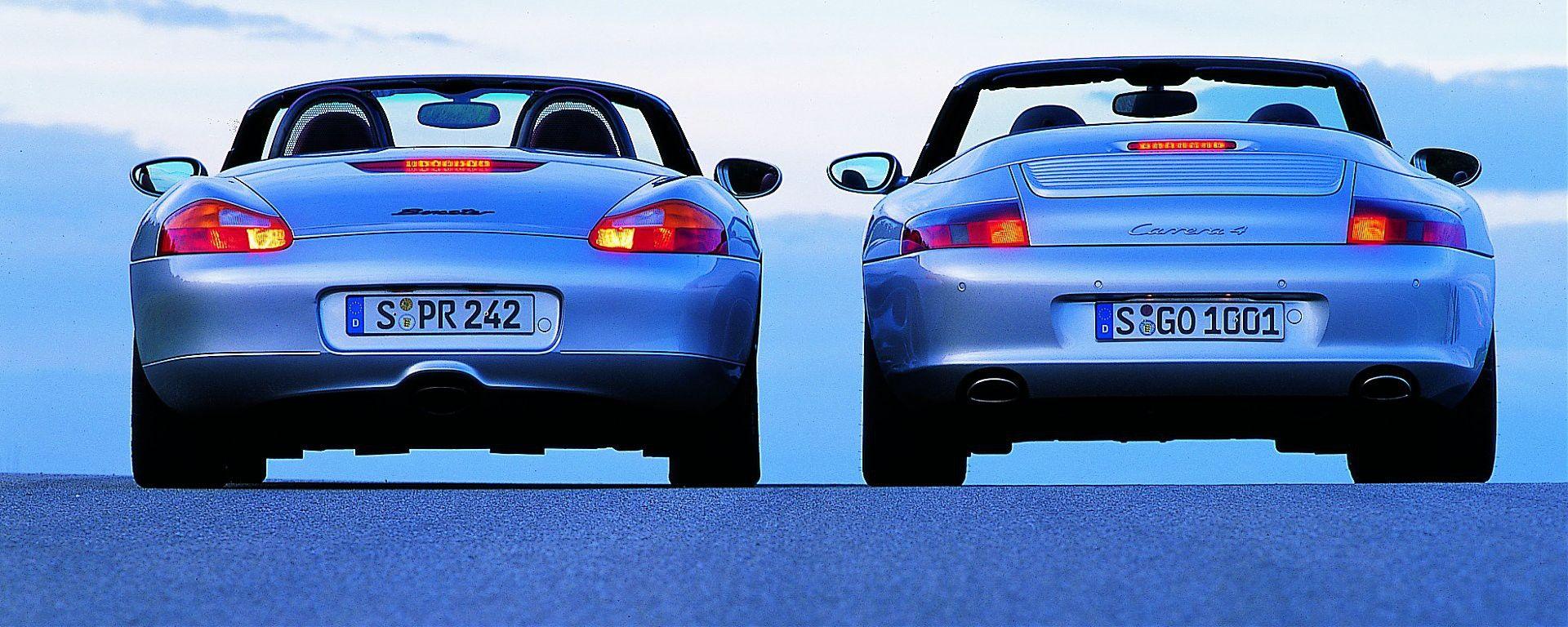 Quanto vale la Porsche Boxster 986
