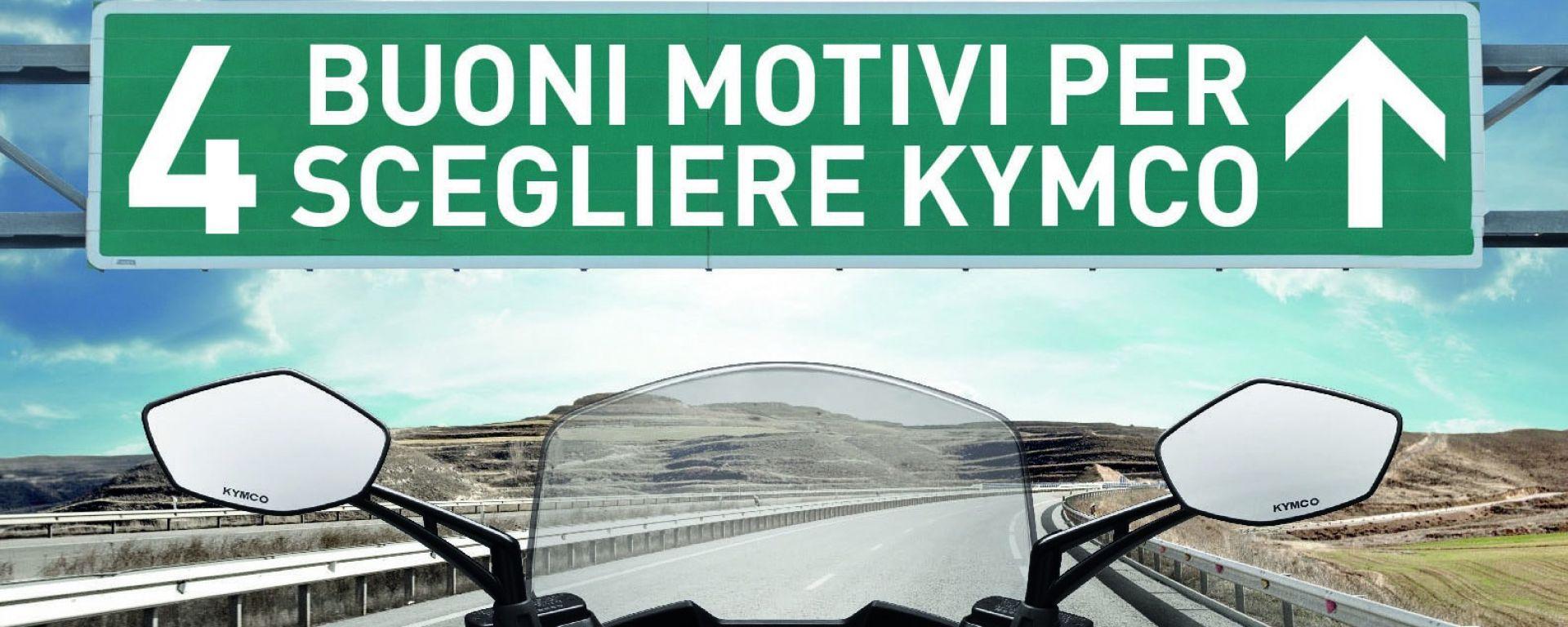Quattro buoni motivi per scegliere Kymco
