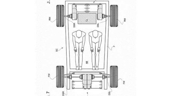 Quattro motori elettrici a spingere la nuova Ferrari 100% elettrica