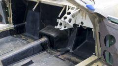 Quel che rimane degli interni della Ferrari 365 GTB/4 Daytona