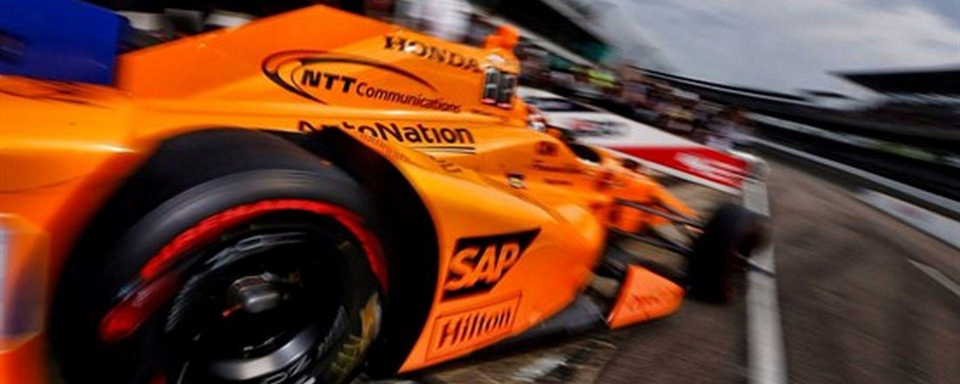 Quinta posizione per Fernando Alonso nelle qualifiche della Indy 500