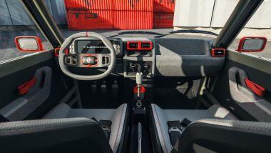 R5 Turbo 3 by Legende Automobiles: abitacolo spartano ma con cruscotto digitale