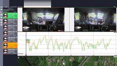 Race Navigator permette anche il confronto con altri piloti